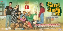 Watch Kirrak Party Movie Audio launch Live Event has been planned on March 10th in Usha Rama College of Engineering, Vijayawada. Kirrak Party Full Movie which is said to be a youthful entertainer has been slated for March 16th release all over. Watch Kirrak Party Movie Pre-Release Event Live Online