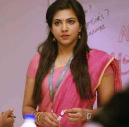 Madonna Sebastian latest pics in saree