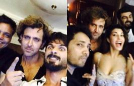 Bollywood Celebs at Punjabi Singer Hrithik Roshan, Deepika Padukone, Jacqueline Fernandez, Ranveer Singh, Arjun Kapoor, Shahid Kapoor, Ayushmann Khurrana at Mika Singh's Birthday Bash, Birthday, Party, Pics