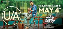 Stylish Star Allu Arjun starrer upcoming much-awaited drama Naa Peru Surya Na Illu India has completed the censor formalities and received 'U/A' certificate with no cuts from the members of the regional censor board. Naa Peru Surya Censor Report, Naa Peru Surya Na Illu India Censor Report