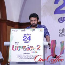 Celebrities and movie technicians who worked for pasanga 2 shared their working experiences in pasanga 2 press meet held in chennai on december 21, 2015.