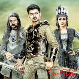 Vijay starring puli movie leaked on internet .A video of 18 minutes puli scenes leaked.