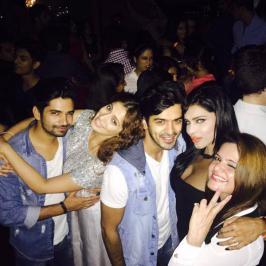 Laxmi Raai Party with Friends, Lakshmi Raai, Tamil, Actress, Party, Photos