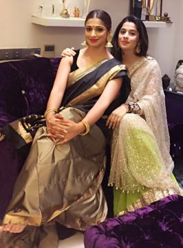 Laxmi Raai Celebrates Diwali with Family Members, Photos, Friends, 2015, Lakshmi Rai Recent, Pics, Latest