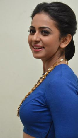 Rakul Preet Singh At Nannaku Prematho Audio Launch