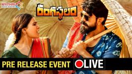 Rangastalam 1985 Movie Audio Release On 18th March, Watch Rangasthalam Movie Pre-Release Event LIVE Online in 360° on Mythri Movie Makers. #Rangasthalam 2018 Telugu Movie ft. Ram Charan, Samantha and Aadhi Pinisetty. Rangasthalam is Directed by Sukumar and Music composed by DSP / Devi Sri Prasad.