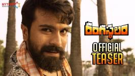 Watch Rangasthalam Official Teaser Review, The Film Directed by Sukumar and Music composed by DSP / Devi Sri Prasad. Produced by Naveen Yerneni, Y Ravi Shankar, and Mohan Cherukuri under Mythri Movie Makers banner. #Rangasthalam1985 ft. Mega Power Star Ram Charan, Samantha and Aadhi Pinisetty.