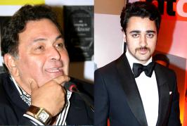 Actors rarely recommend other actors for roles. Rarer so, when said actor already has a son, who's also an actor. Buzz is that Rishi Kapoor was upset with Im...