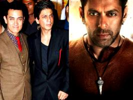 Salman thanks ShahRukh and Aamir For tweeting Bajrangi Bhaijaan first look  Salman Khan's much awaited movie 'Bajrangi Bhaijaan' is special by various