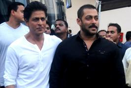 Salman Khan and Shah Rukh Khan grabbed headlines yesterday as the two met up at Mehboob Studios to shoot the promo for the Bigg Boss 9 episode that would fea...