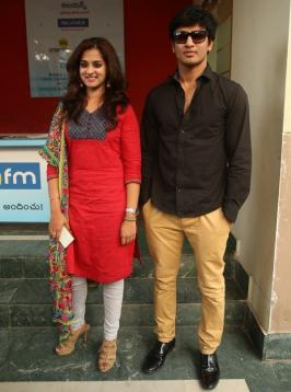 Sankarabharanam Movie Team at Big FM RJ Show Photos, Big FM Radio station, Nanditha, Nikhil, Event Pics, Images, Shankarabharanam, Telugu Movie, film