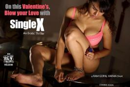 He launched the first look poster of the first short film Single X from RGVTalkies. Now, he released the second poster of that yesterday as a Valentine's day gift to men. Single X is a erotic thriller story that is based on dark, gritty and shocking elements.