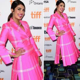 how will you rate Priyanka Chopra's recent outing at TIFF? – Check out latest Priyanka Chopra photos including wallpapers, posters, photo-shoots, movie still & selfies. Explore hot & sexy images of Priyanka Chopra. Also get bollywood actors, actress, movie, parties & event photos at Bollywoodlife.com
