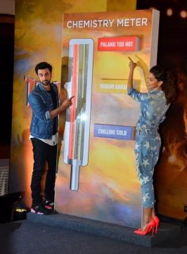 Tamasha Team Launches Chemistry Meter Photos, Ranbir Kapoor, Deepika Padukone, Bollywood Movie, Hindi Film, Mumbai, Event, Pics
