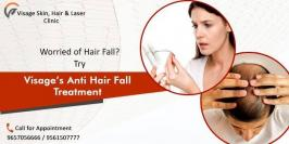 Worried about Hair Fall? Try Visage's new technique helps to reduce your hair fall and get hair doctor in Pune. Make the use of Best Treatment for Anti Hair Fall in the Town.