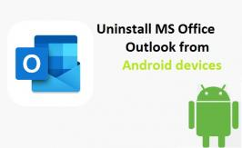 If you have Outlook application installed on your Android device as a business policy, then can contact our toll - free number. We are happy to help you.