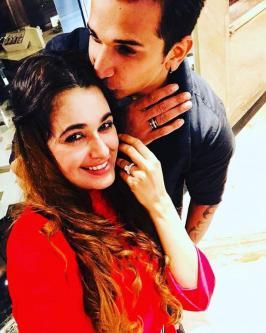 Prince Narula and Yuvika Chaudhary had a BIG FIGHT: Bigg Boss 9 contestantPrince Narulaannounced his engagement toYuvika Chaudharyin the most romantic yet