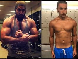 Ranveer Singh shares his incredible physical transformation: Ranveer Singh's latest photo shows the actor's unbelievable transformation, which he underwent for