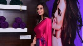 Meenakshi Dixit Stills At Naturals Salon Launch: It doesn't get any hotter than Meenakshi Dixit and this gallery of her sexiest photos.