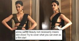 Deepika Padukone Slut-Shamed for wearing Sexy Black Saree: Social media has given us a vital platform to express ourselves and make our views clear on any