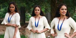 Nandita Swetha Stills At Kathiruppor Pattiyal Movie Audio Launch: It doesn't get any hotter than Nandita Swetha and this gallery of her sexiest photos.