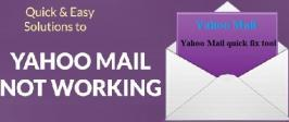 Yahoo mail not working. If you're one of them, Quick Fix Tools- then you'll be pleased to learn that Yahoo is working on a fix for the problem.