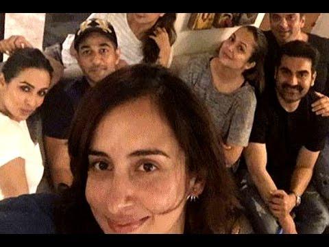 Separated Malaika Arbaaz party together - YouTube