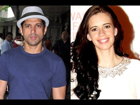 OMG Farhan Akhtar dating Kalki Koechlin soon moving together - YouTube