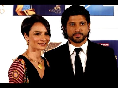Farhan Akhtar's super friendly divorce - YouTube