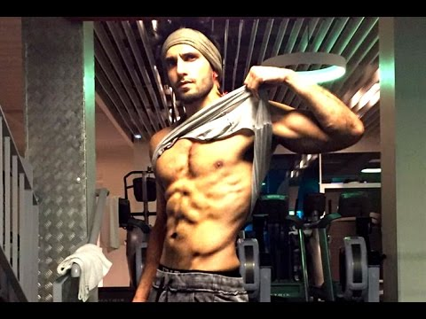 Ranveer Singh Hot Body screaming for Nutella - YouTube