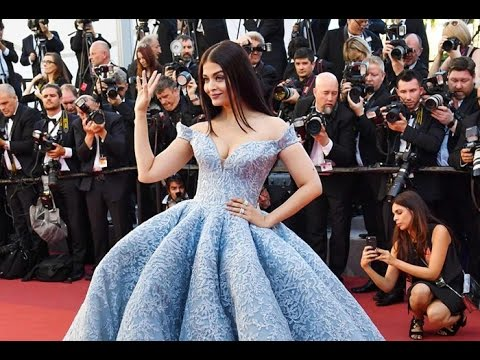 Aishwarya Rai Bachchan look princess for Cannes red carpet - YouTube