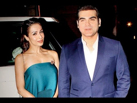 Arbaaz Khan takes wife Malaika Arora Khan out for dinner - YouTube