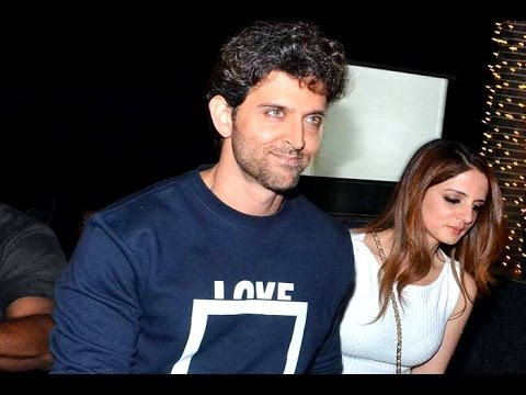 Ex wife Sussanne Khan joins Hrithik Roshan for his birthday bash - YouTube