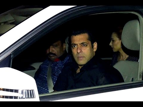 Salman Khan Spotted with Iulia Vantur - YouTube