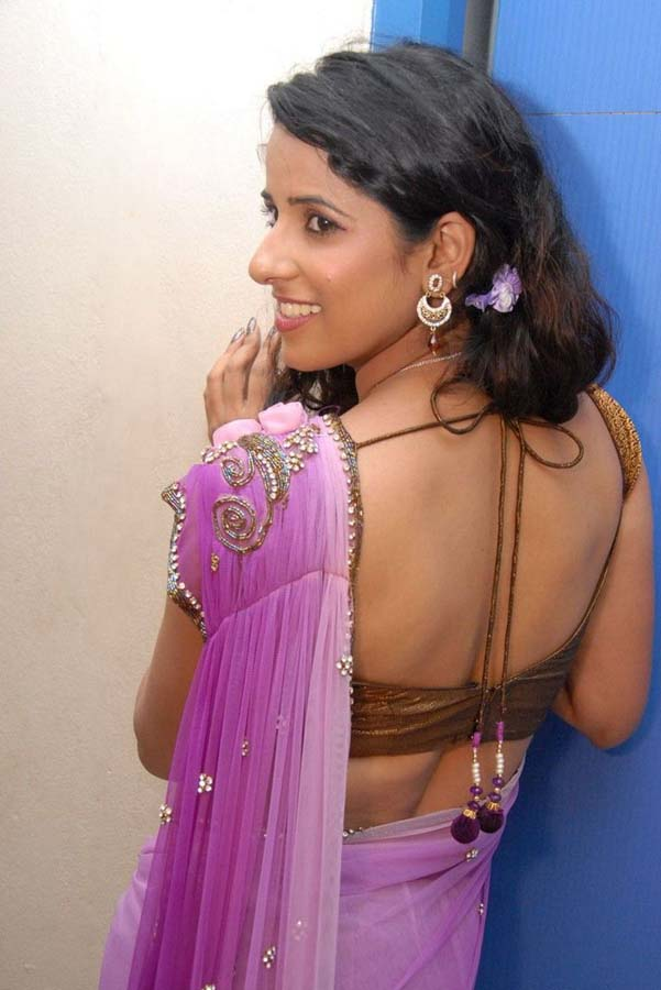 Sravya Reddy | Sravya Reddy Hot Saree Photos | Spicy Navel ...