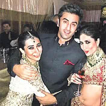 Kareena, Karisma and Ranbir - Oneindia Gallery