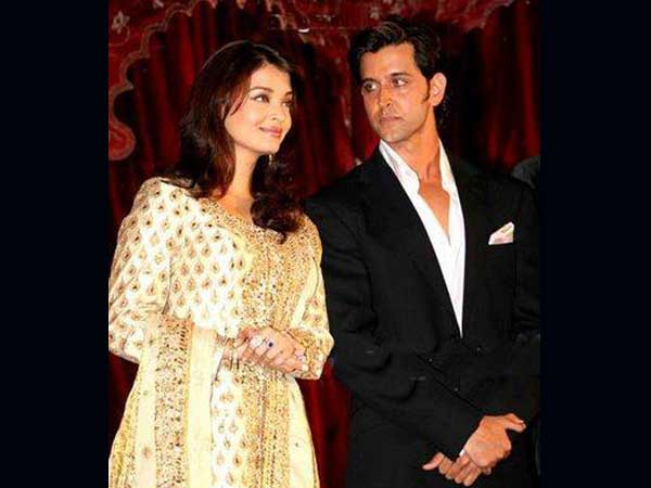 Unseen pictures of Aishwarya Rai Bachchan and Hrithik Roshan - Oneindia Entertainment