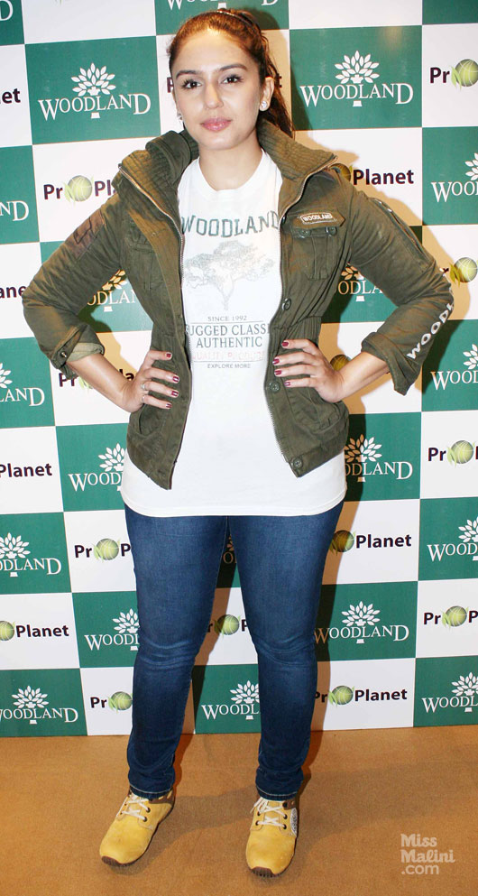Actress Huma Qureshi Launches Woodlands Fall/Winter 2012 Line