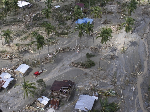 The Latest: Dozens feared trapped in Philippine landslide