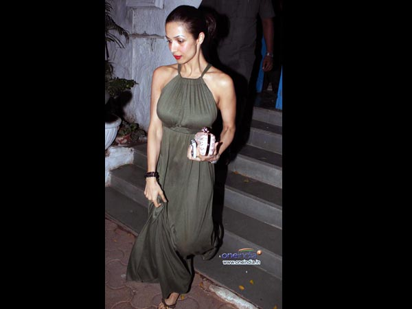 Pictures: Salman Khan attends Arbaaz-Malaika\'s anniversary celebration - Oneindia Entertainment