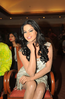 Veena Malik Hot  in white outfit