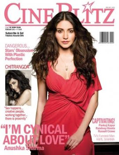 Anushka Sharma Hot On Cineblitz Magazine Feb 2013 Cover Page ~ Cinemaawood