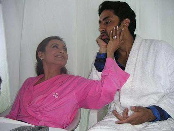 Unseen Pics of Birthday Boy Abhishek Bachchan with Ex Rani Mukherjee - Oneindia Entertainment