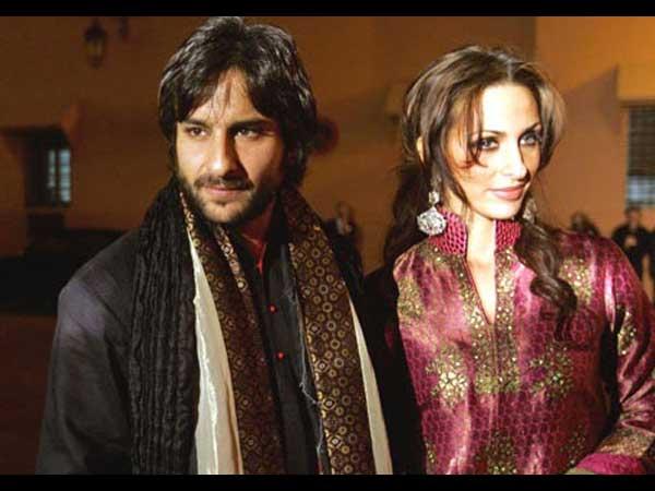 Rare, Unseen pictures of Saif Ali Khan, ex-girlfriend Rosa! - Oneindia Entertainment