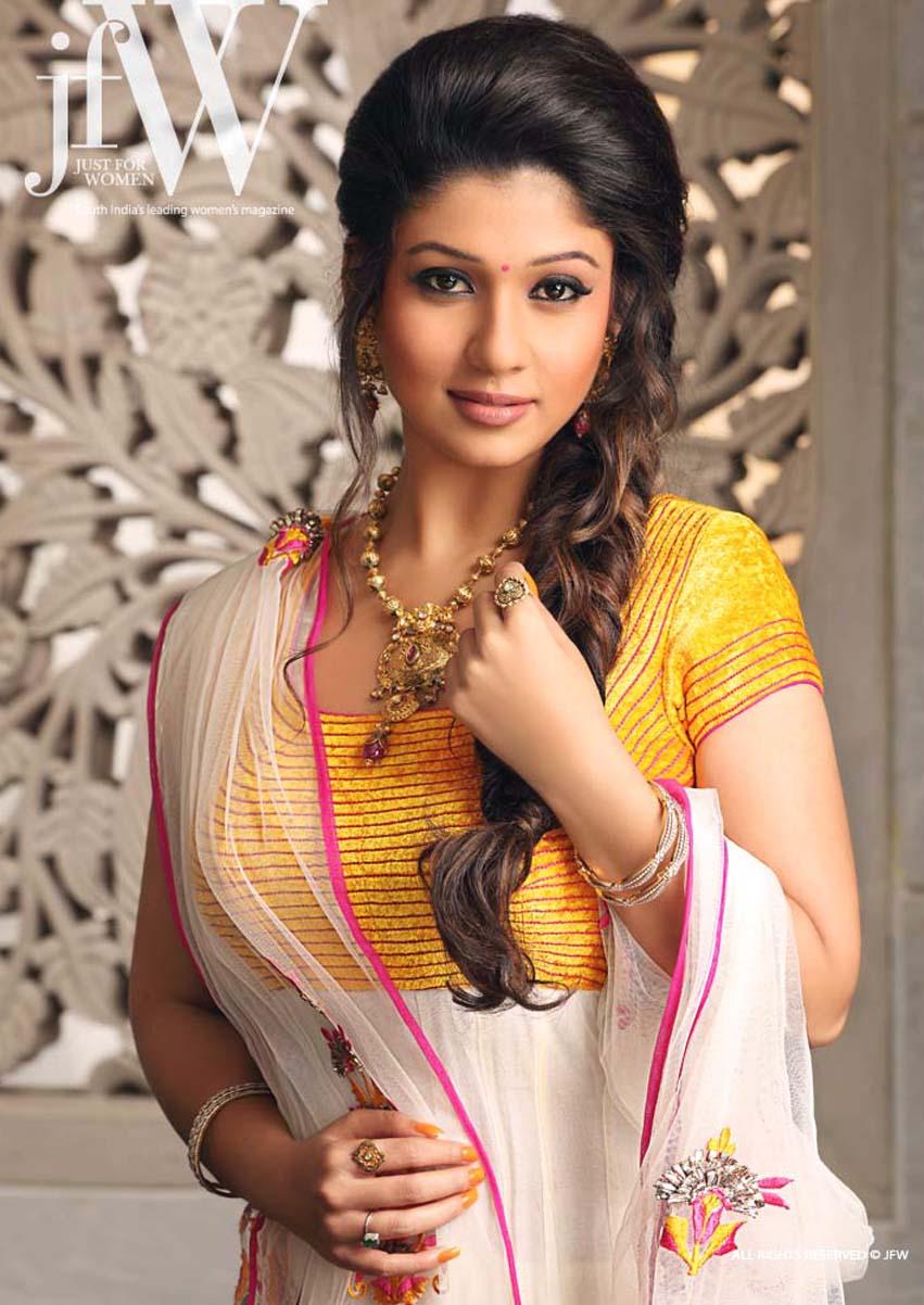 in saree south indian actress nayantara hot stills from telugu movie
