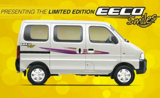 Maruti Suzuki has launched a limited edition variant of the EECO, called Eeco Smiles. There have been no mechanical changes to the car and for the extra money you spend for the limited edition variant, you get a couple of new features.