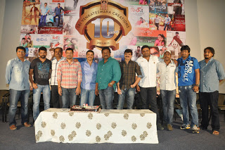 Sri Venkateswara Creations 10 Years Pressmeet