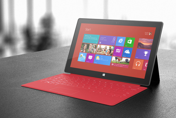 Microsoft planning a version of the Surface RT with a Qualcomm CPU: Report