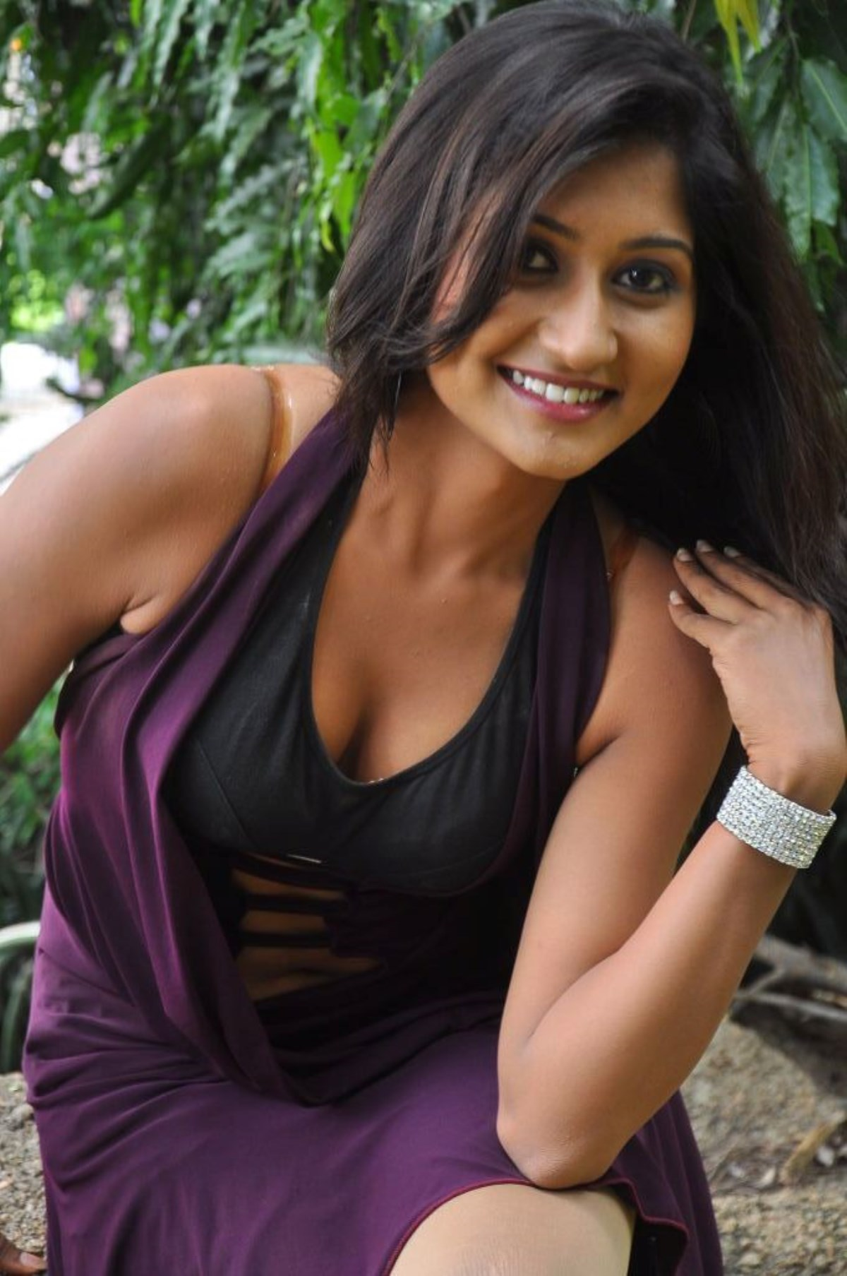 Akshaya Hot At Nannu Dochukunduvate Movie Opening