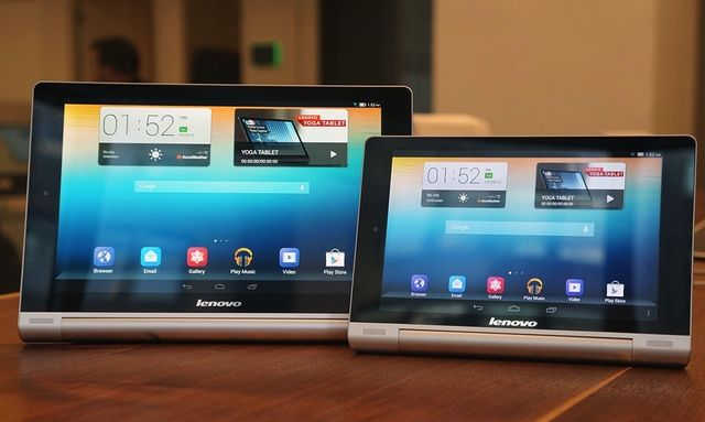 Twistable Android Yoga Tablets From Lenovo